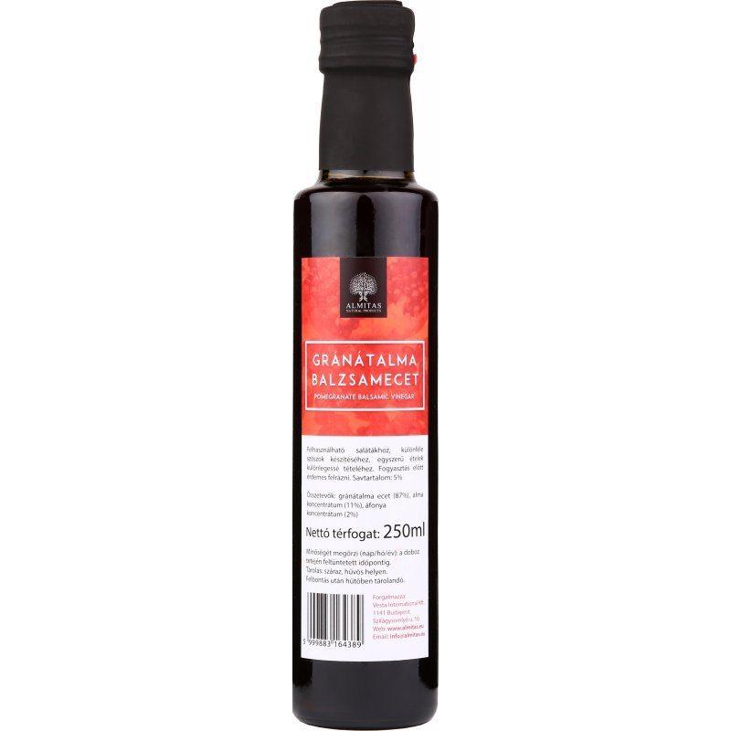 Almitas Gránátalma balzsamecet - 250ml