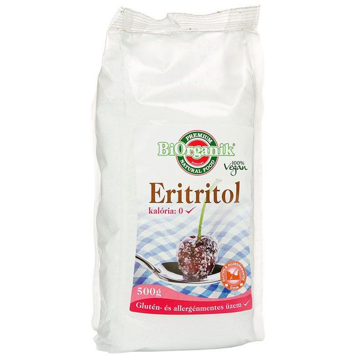Biorganik Natúr Eritritol - 500g