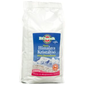 Biorganik Natúr Himalaya só fehér finom - 1000g