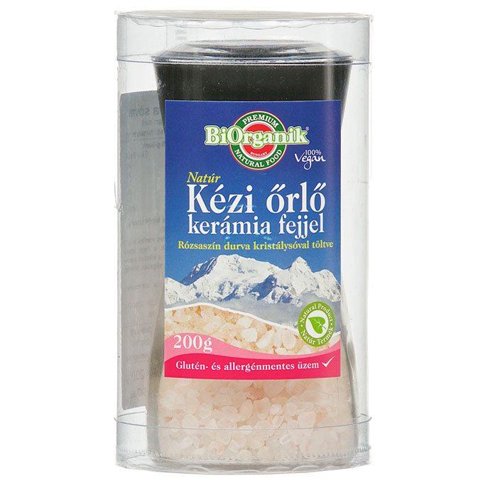 Biorganik Natúr Himalaya só rózsaszín őrlőben - 200g
