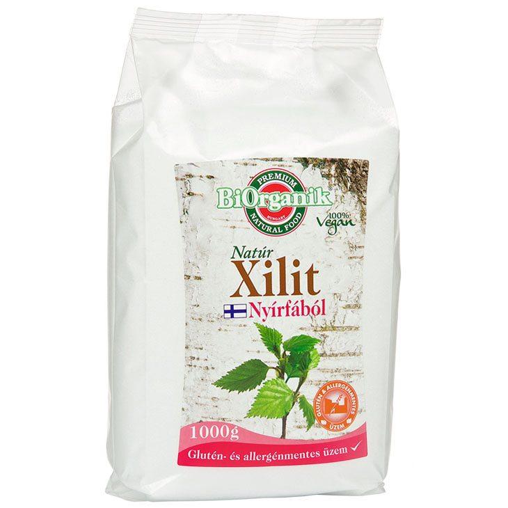 Biorganik Natúr Xilit - 1000g