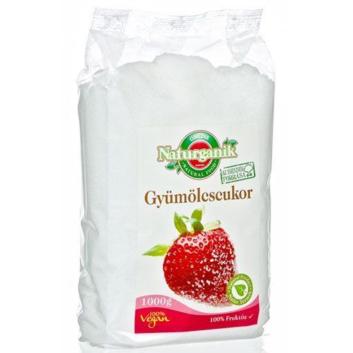 Biorganik Natúr gyümölcscukor fruktóz - 1000g