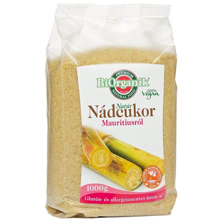 Biorganik Natúr mauritiusi nádcukor - 1kg