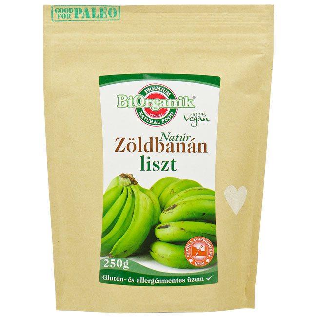 Biorganik Natúr zöldbanán liszt - 250g