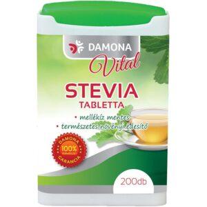 Damona Vital Stevia tabletta - 200db