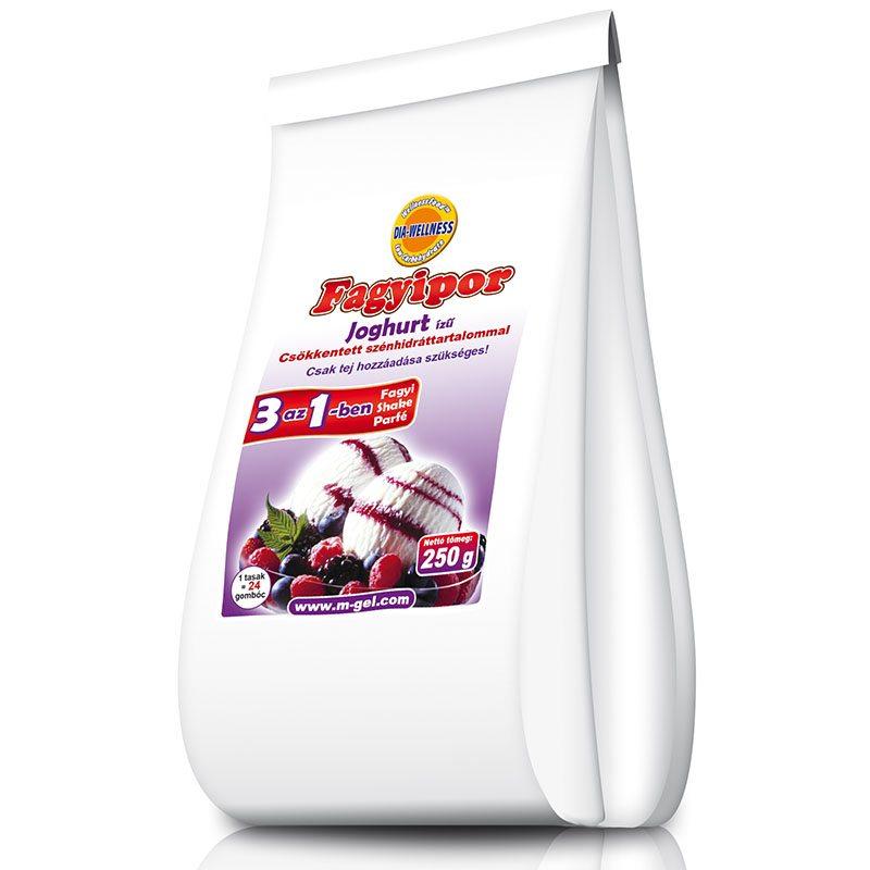 Dia-wellness joghurt ízű fagylaltpor - 250g