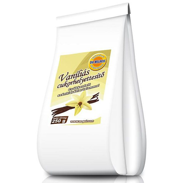 Dia-wellness vaníliás cukorhelyettesítő - 250g