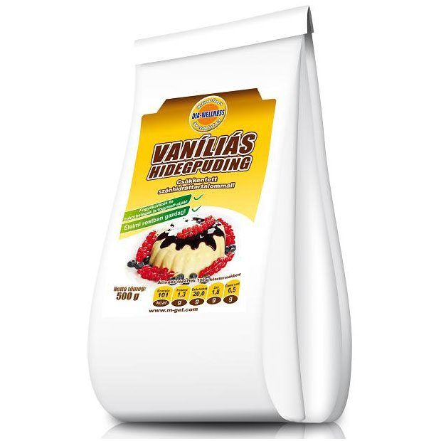 Dia-wellness vaníliás hidegpuding - 500g