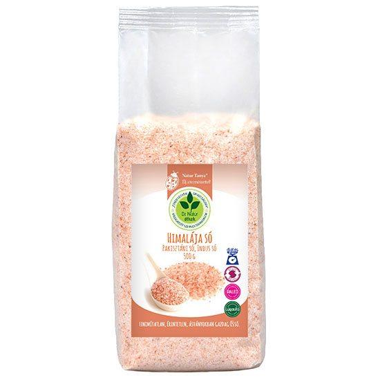 Dr. Natur étkek Himalája só (Pakisztáni só, Indus só) - 500g