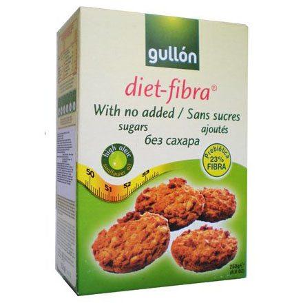 Gullón diabetikus Fibra rostdús keksz - 250g