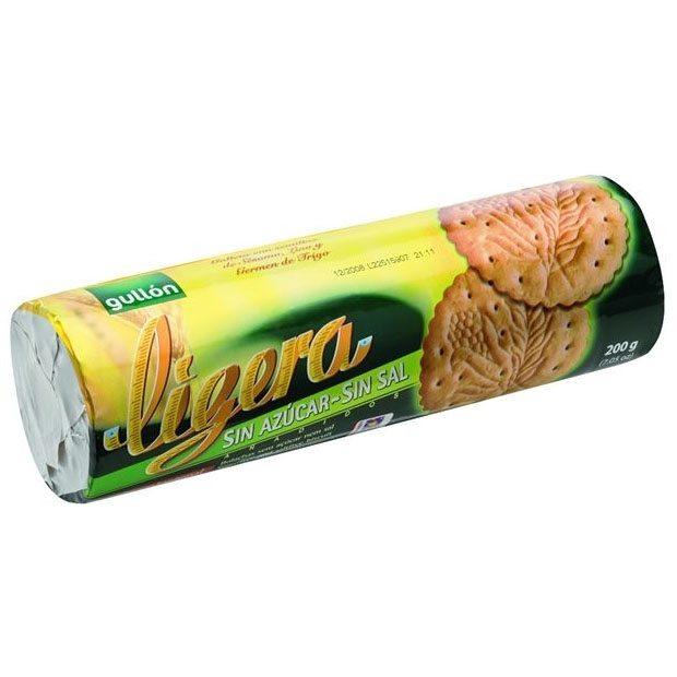 Gullón só- és cukormentes Ligeria keksz - 200g