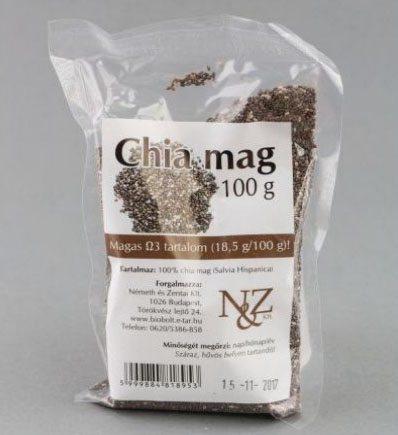 N&Z Chia mag - 100g