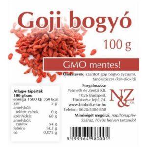 N&Z Goji bogyó - 100g
