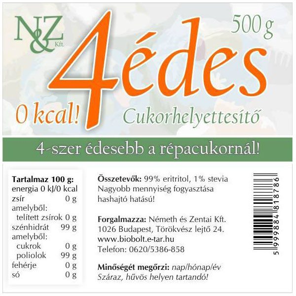 Nature Cookta 4 édes - 500g
