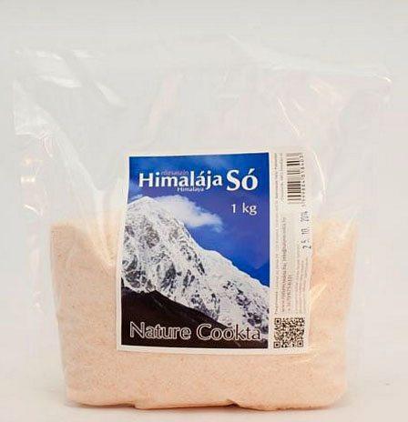 Nature Cookta Himalája rózsaszín só - 1000g
