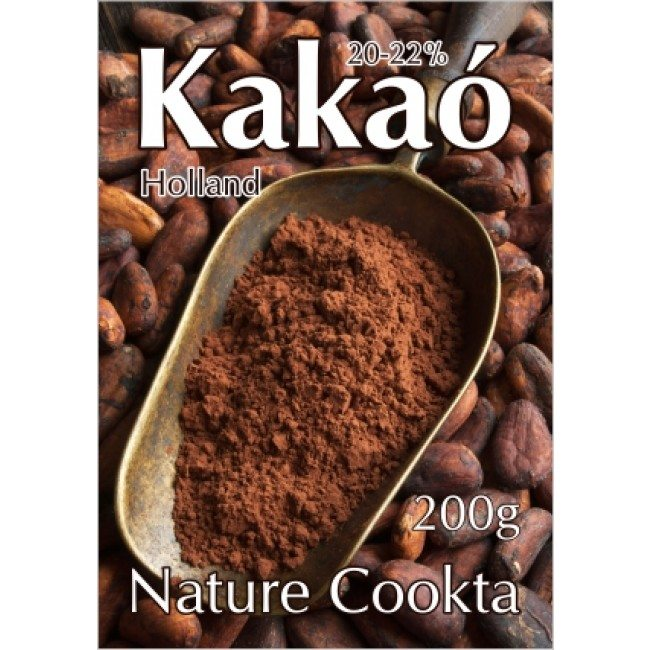 Nature Cookta holland kakaópor 20-22% - 200g
