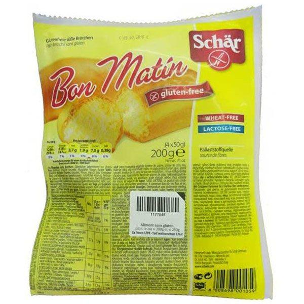 Schär Bon Matin gluténmentes édes kiflik - 200g