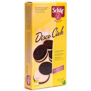 Schär gluténmentes disco ciok kakaós keksz - 165g