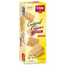 Schär gluténmentes keksz tejes krémmel töltve - 125g