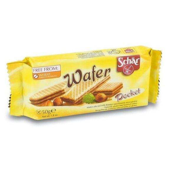 Schär gluténmentes mogyorós ostya - 50g