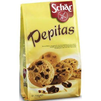 Schär gluténmentes pepitas csokis keksz - 200g