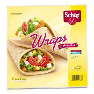 Schär gluténmentes wraps - 160g
