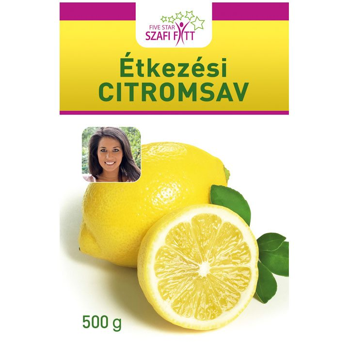 Szafi Fitt étkezési citromsav - 500g