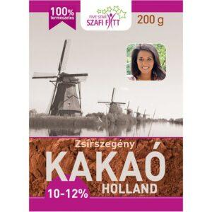 Szafi Fitt zsírszegény holland kakaó - 200g