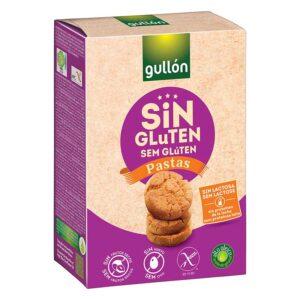 Gullón glutén-, tej- és laktózmentes keksz Pastas - 200g