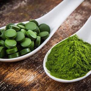 Spirulina és Chlorella alga