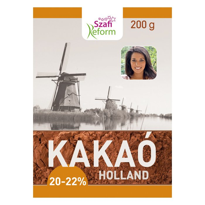 Szafi Fitt Holland kakaó – 200g
