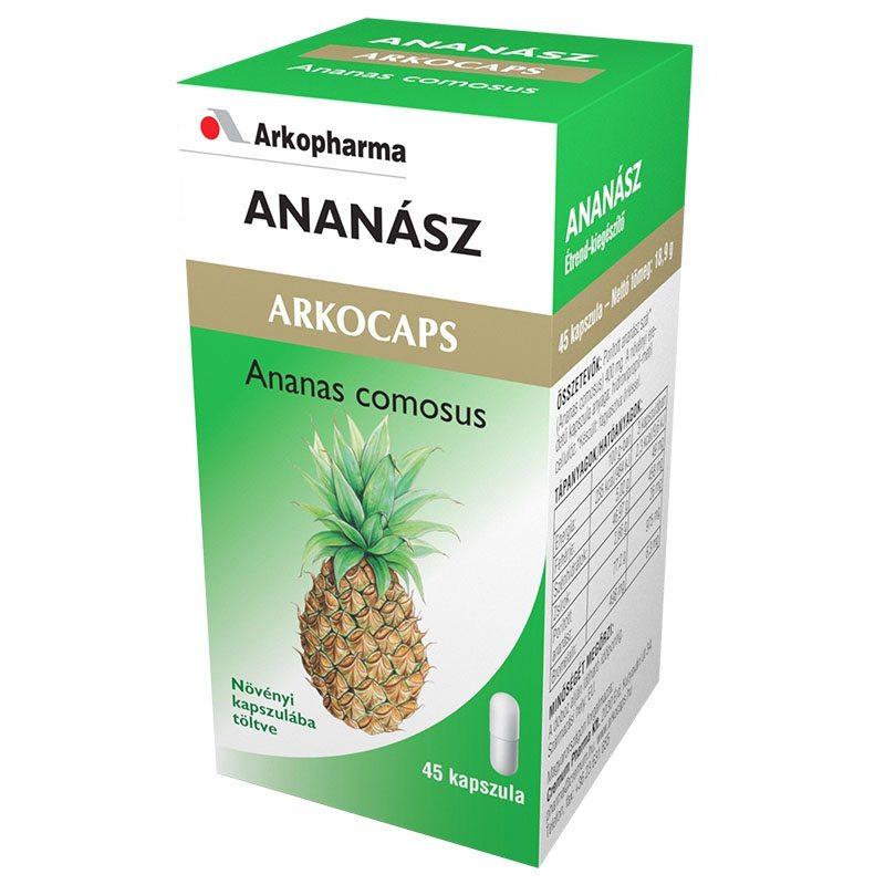 Arkocaps Ananász kapszula - 45 db