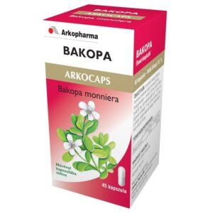 Arkocaps Bakopa kapszula - 45 db