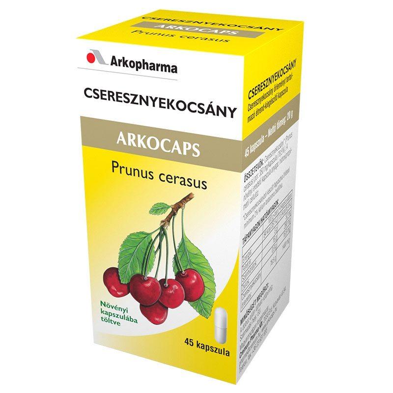 Arkocaps Cseresznyekocsány kapszula - 45 db