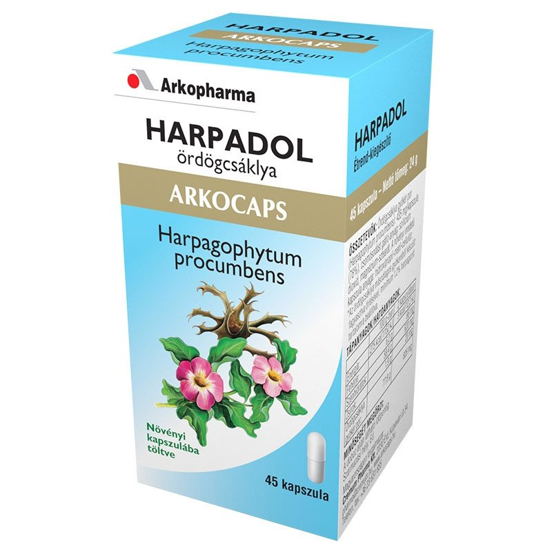 Arkocaps Harpadol - ördögkarom kapszula - 45 db kapszula