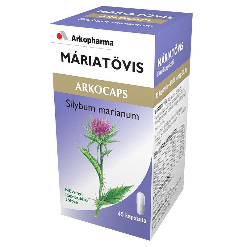 Arkocaps Máriatövis kapszula - 45 db