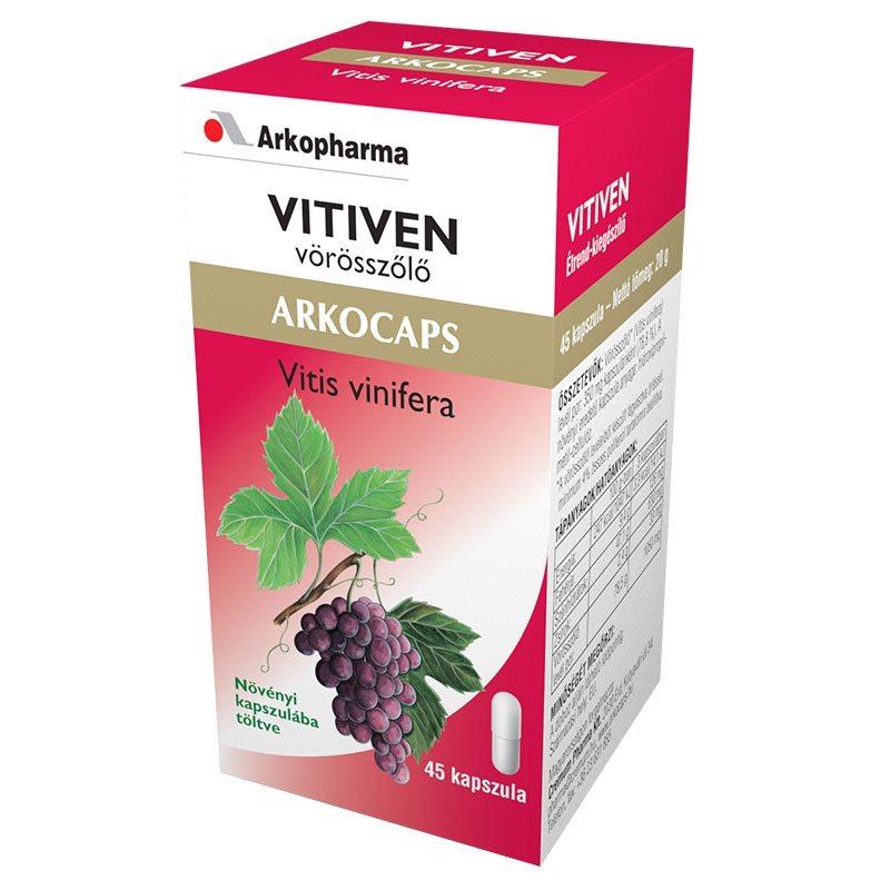 Arkocaps Vörösszőlő kapszula 45 db
