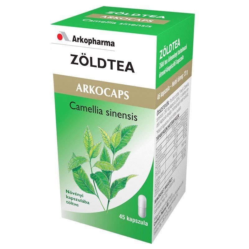 Arkocaps Zöld tea kapszula - 45 db
