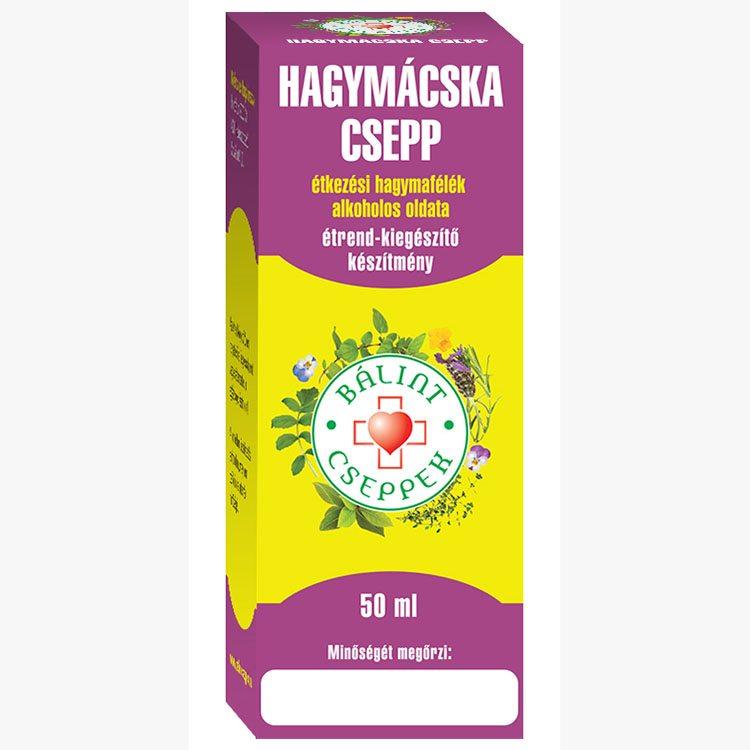 Bálint Cseppek hagymácska csepp - 50ml