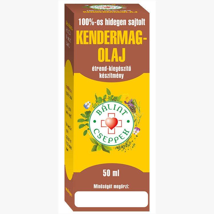Bálint Cseppek kendermagolaj 100% - 50ml