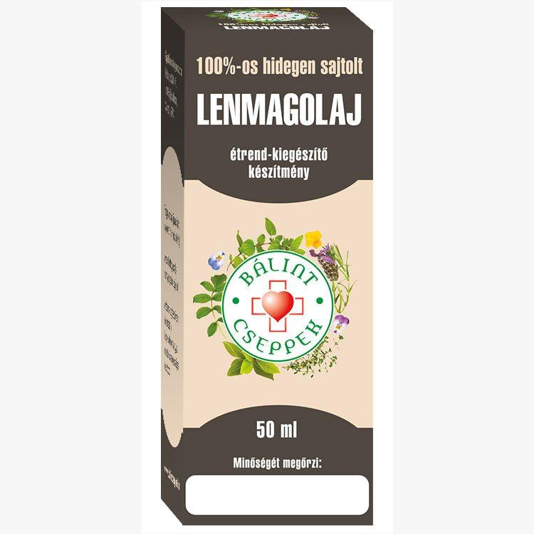 Bálint Cseppek lenmagolaj 100% - 50ml