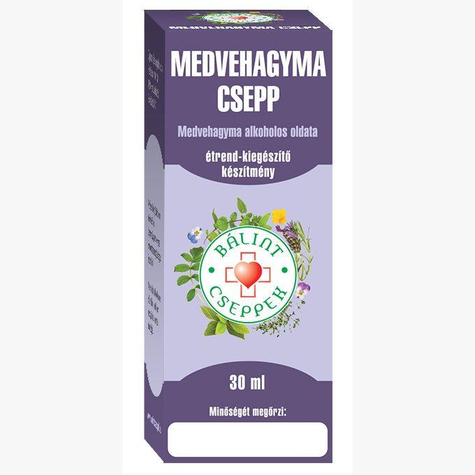Bálint Cseppek medvehagyma csepp - 30ml