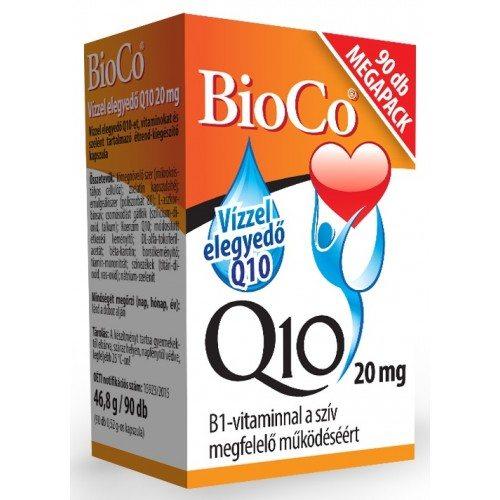 BioCo 20 mg-os Q10 készítmény - 90db kapszula