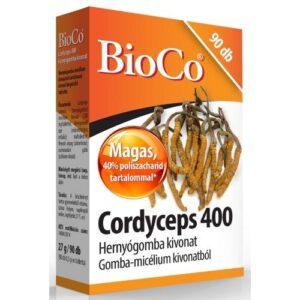 BioCo Cordyceps - kínai hernyógomba tabletta - 90db