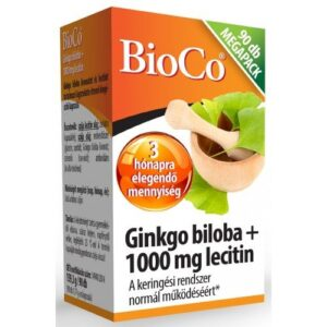 BioCo Ginkgo Biloba + Lecithin kapszula - 90 db