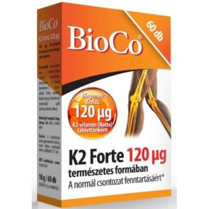 BioCo K2 forte vitamin tabletta - 60db