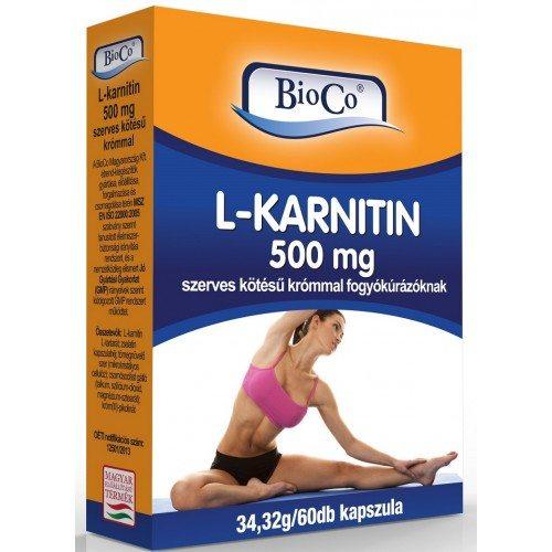BioCo L-Karnitin kapszula - 60db