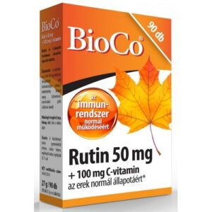 BioCo Rutin + C-vitamin tabletta - 90db