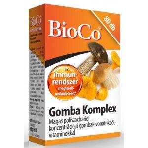 BioCo gomba komplex tabletta - 80db