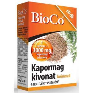 BioCo kapormag kivonat tabletta krómmal - 60db